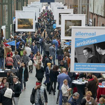 Amsterdamse Participatiemarkt maakt ambities waar